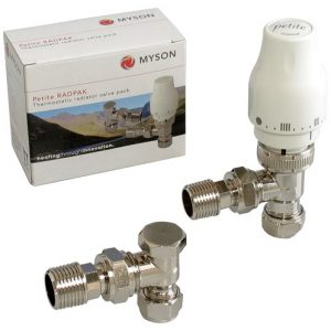 Myson Petite Thermostatic Radiator Valves