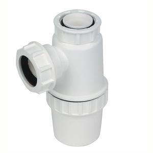 White Plastic Bottle Trap