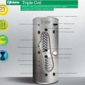 JOULE TRIPLE COIL SOLAR
