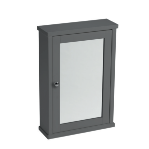 LAURA ASHLEY MIRROR CABINET CHARCOAL