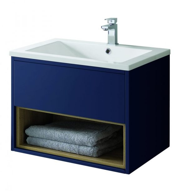 Lucca 600 Wall CO MATT BLUE scaled