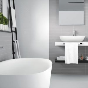 URBAN GRIS BRILLO 75X30 BATHROOM