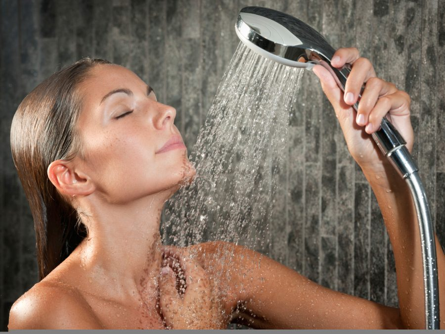 woman in shower scaled
