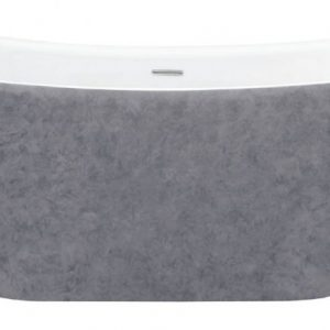BOW MOLTEN GREY FREESTANDING BATH scaled