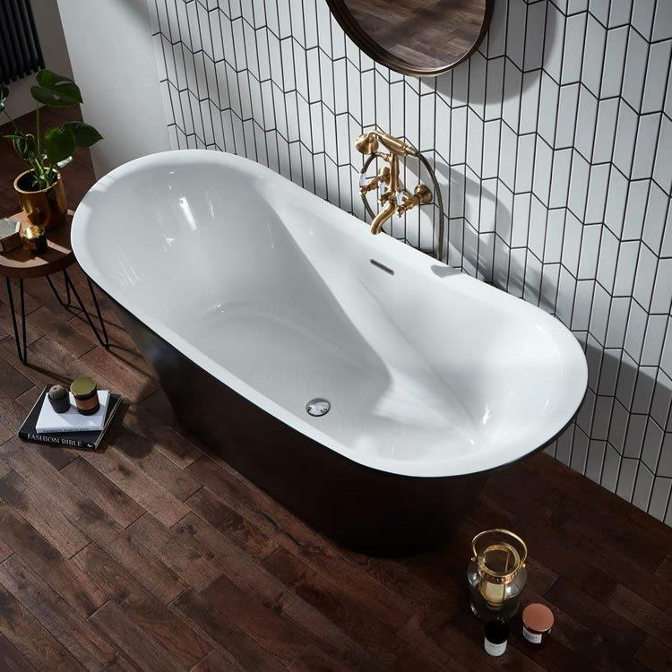 BOW BLACK BATH IMAGE TV