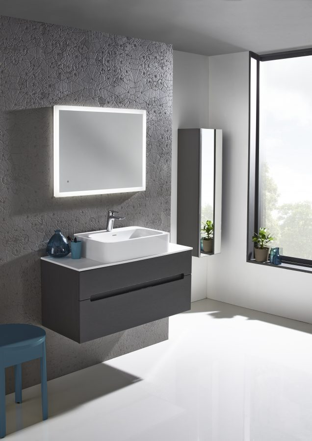 Diverge 800mm wall mounted charcoal elm lifestyle v01 scaled