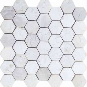 hexagon Ivory scaled
