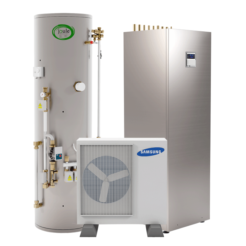 heat pump set