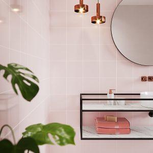MONOBLOCK PASTEL PINK BATHROOM SP