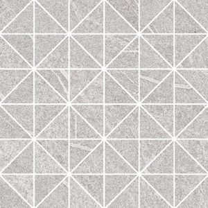 grey blanket triangle mosaic micro 29x29