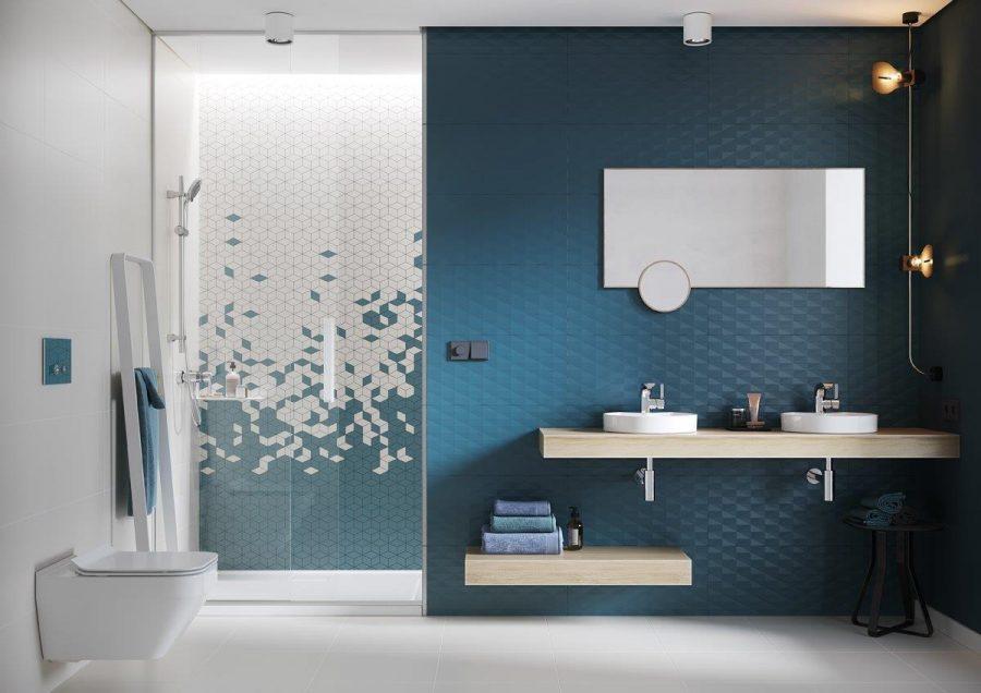 COLOUR BLINK bathroom contemporary 1 mp small